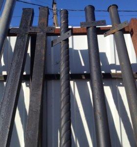 Столбы заборные 60х60, 3м длина