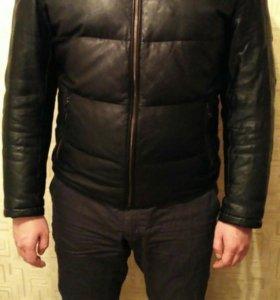 Куртка кожаная (Пуховик) Ivagio