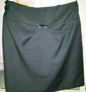 Новая школьная юбка и блузка