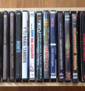 DVD с фильмами 23 шт