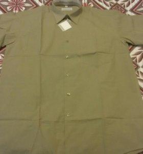 Рубашка новая с коротким рукавом Romazzotti