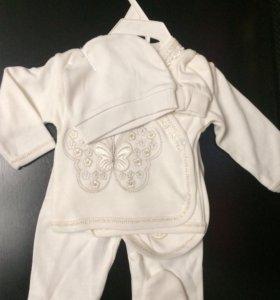 Новый комплект для новорожденного,  56-62