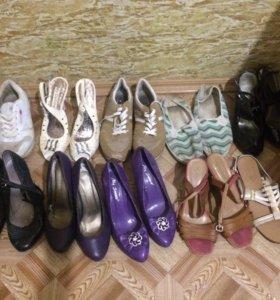 Вся обувь размер 37-37,5