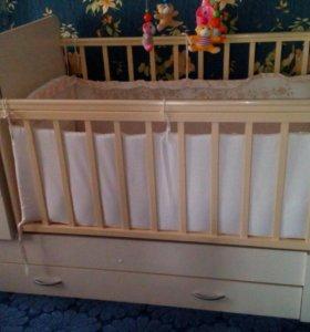 Кровать 3в1