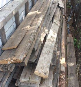 Дерево, доски, бруски, лес, бревна, дрова