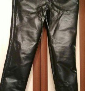 Кожаные штаны, пиджак