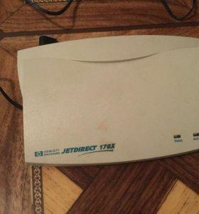 Принт-сервер HP Jetdirect 170X