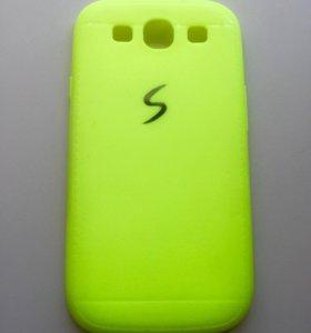 🌸 Новый силиконовый чехол для Samsung S3