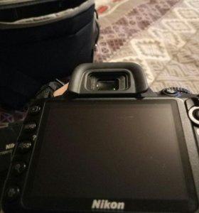 Nikon d3100 55kit +штатив +сумка