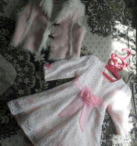 Платье на 3-4 года