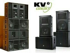 Продажа и аренда акустики KV2 Audio