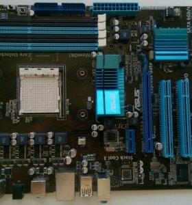 Материнская плата Asus m4a87td и процессор