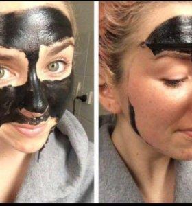 Чёрная бамбуковая маска