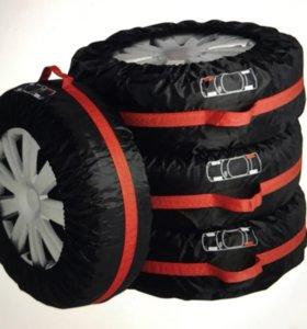Чехлы для шин для R13-R16. 4 шт.