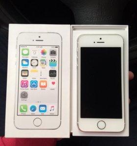 Apple iPhone 5s white 16gb