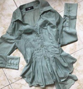 Шикарнейшая рубашка-блузка,Франция,оригинал
