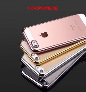 Силиконовые чехлы iPhone 5s/6s/7