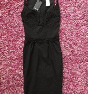 DSQUARED 😻,Шикарное чёрное платье,оригинал
