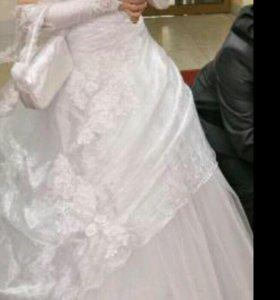 Свадебное красивое платье