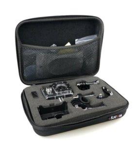 Кейс для экшен-камеры и аксессуаров  новый