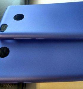 Чехол синего цвета для Xiaomi redmi 3S 3pro