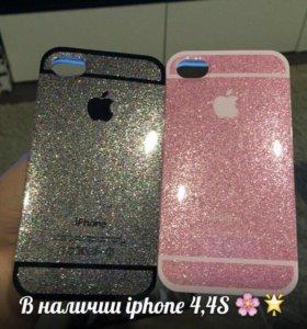 Чехлы на iPhone 4,4S
