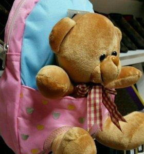 Рюкзачки с игрушкой