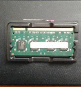Оперативка для ноута DDR2 1GB