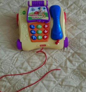 развивающая игрушка Fisher Price телефон