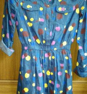 Джинс платье