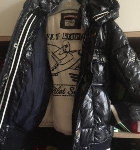 Детская куртка на 3-4 года