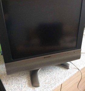На ЗАПЧАСТИ!!!ЖК-телевизор Sharp LC-20T1RU