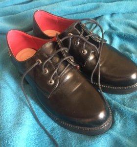 Туфли ботинки женские 37