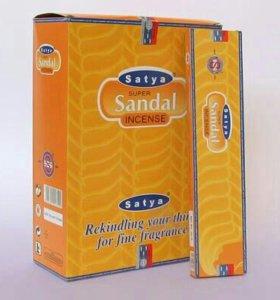 Благовония Satya Super Sandal 20 гр