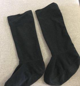 Резиновые сапоги с тёплым подкладом