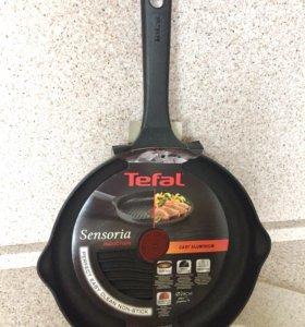 Сковорода-гриль Tefal Sensoria