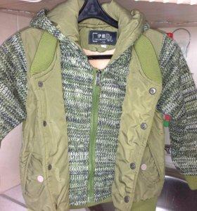 Куртка детская размер 104-110