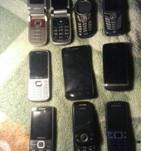 Сломанные телефоны