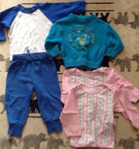 Пакет детской одежды 40 вещей