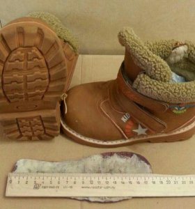 Ботинки детские 31р зима