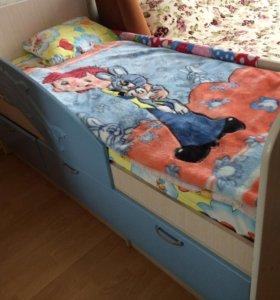 """Продаётся детская кровать """"дельфин""""."""