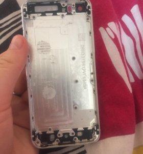 Стекло и задняя панель на iPhone 5/5S