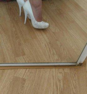 Свадебные туфли+балетки