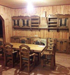 Изготовляю мебель ,беседки,лестницы ,столы лавки