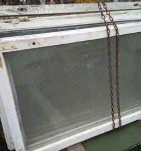Рамы одинарные б/у со стеклом.