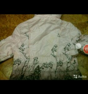 Куртка на девочку 5-7лет