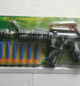 Бластер с 6 мягкими снарядами