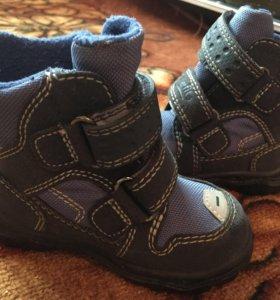 Ботиночки зимние 21 размер
