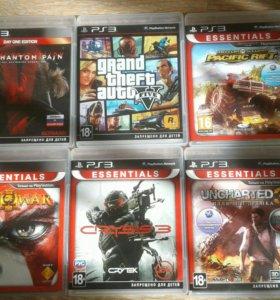 Игровые диски для PS 3