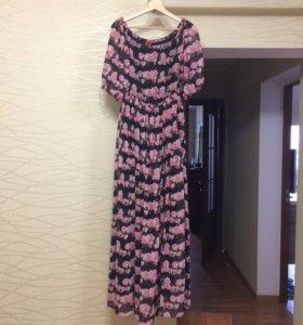 Шёлковое платье новое